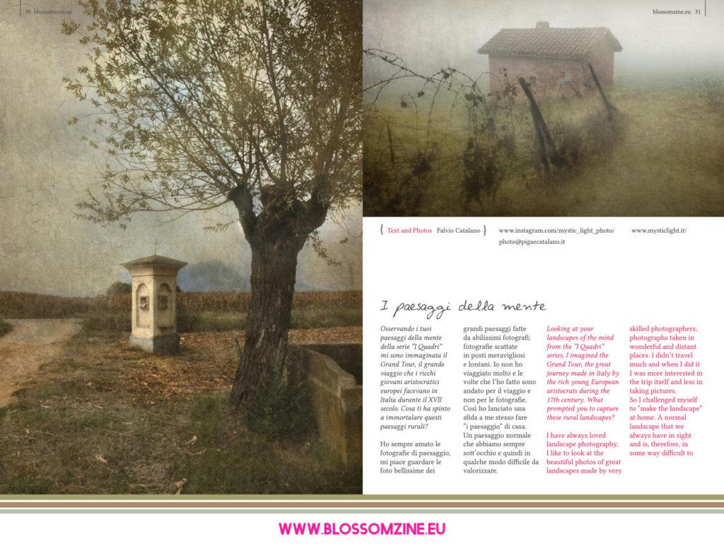 I paesaggi della mente di Mystic Light, intervista Blossomzine