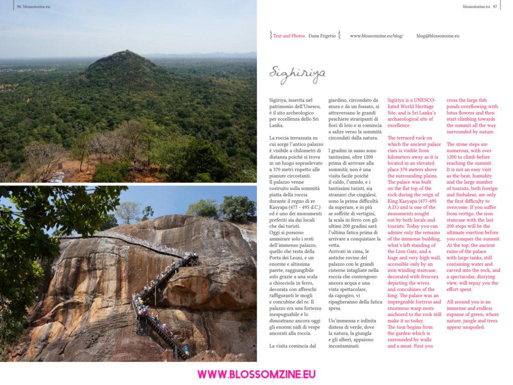 Il sito archeologico di Sigirya