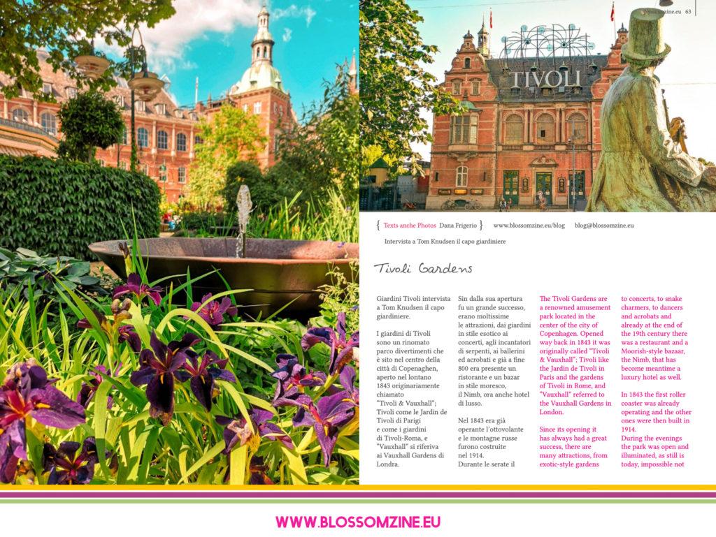 I favolosi Giardini Tivoli a Copenaghen