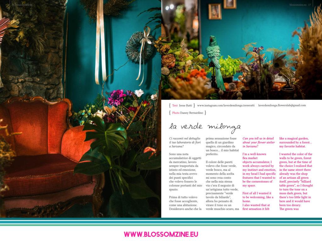 Intervista a La Verde Milonga floral designer