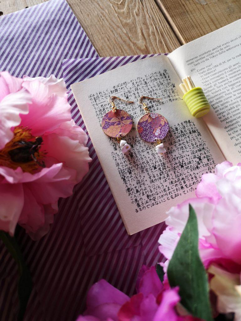 orecchini origami di MrsUnperfect Blossomzine