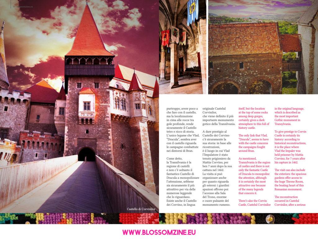 I castelli della Transilvania, viaggio Blossomzine.