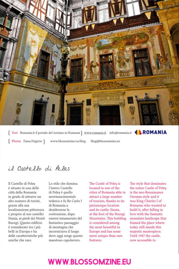 Lo splendido Castello di Peleș, viaggio in Romania