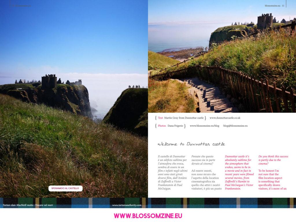 castello di Dunnottar in Scozia