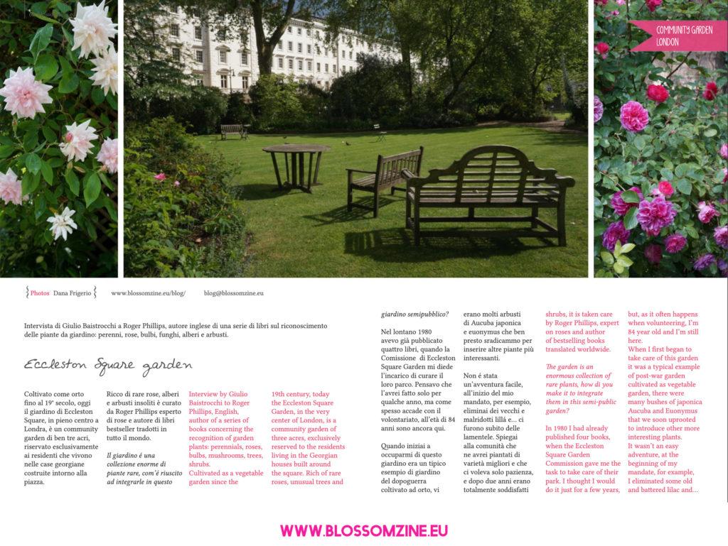 Eccleston Square, un community garden in centro a Londra