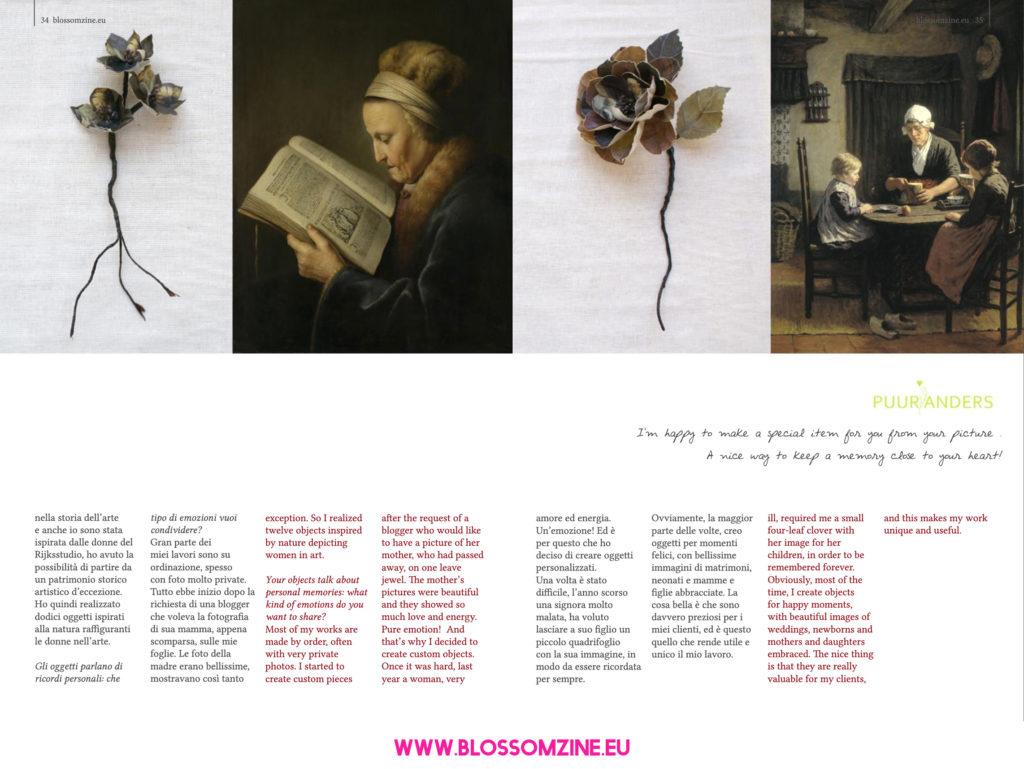 Puur Anders, intervista Blossomzine