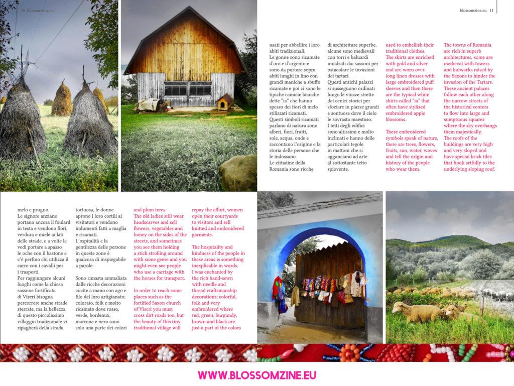 Folklore in Transilvania, viaggio in Romania Blossomzine