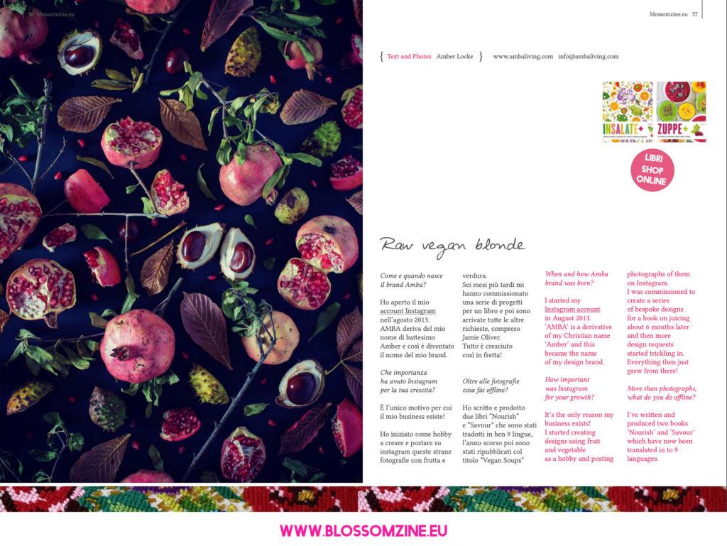 Le fotografie creative di Amba, intervista Blossomzine