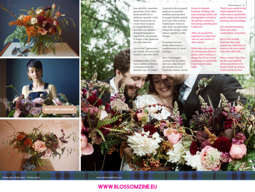 Scottish Wedding, intervista Blossomzine