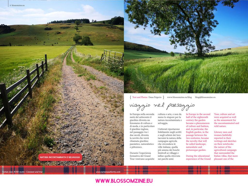 Il giardino naturalistico inglese, i viaggi Blossomzine