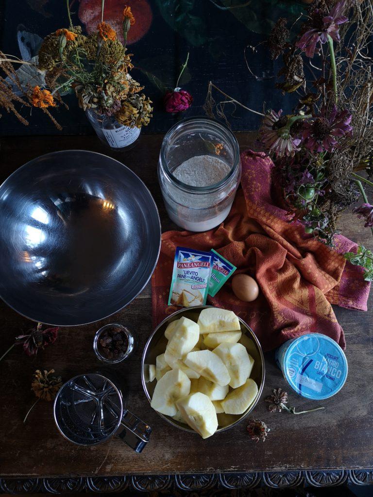 Blossomzine la ricetta della torta di mele dietetica disegnata da scaricare