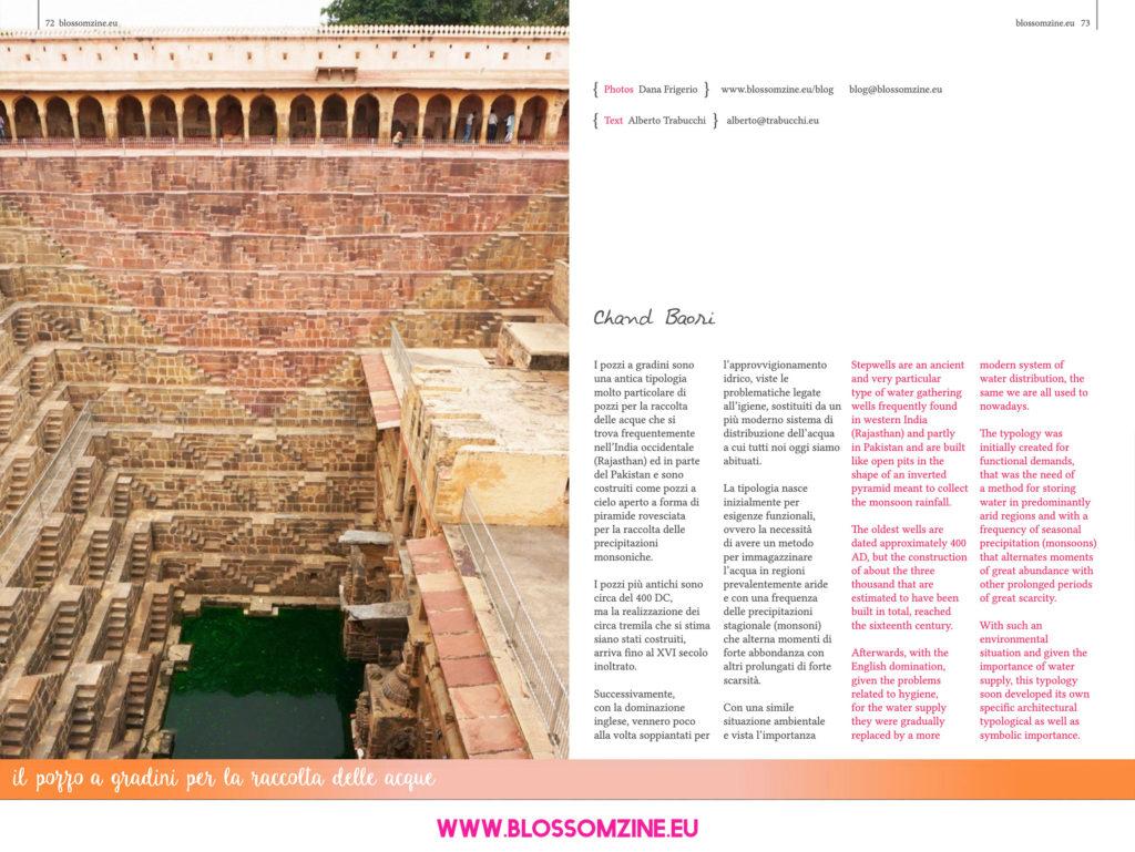 I pozzi a gradini Chand Baori, viaggio in India Blossomzine