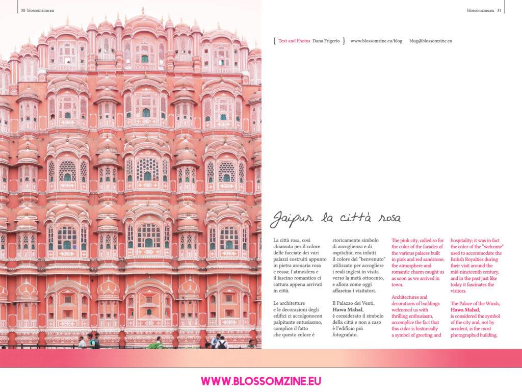 Jaipur la città rosa, viaggio in India Blossomzine