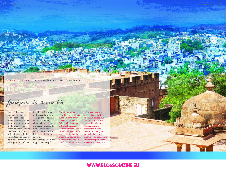 Jodhpur la città blu, viaggio in India Blossomzine