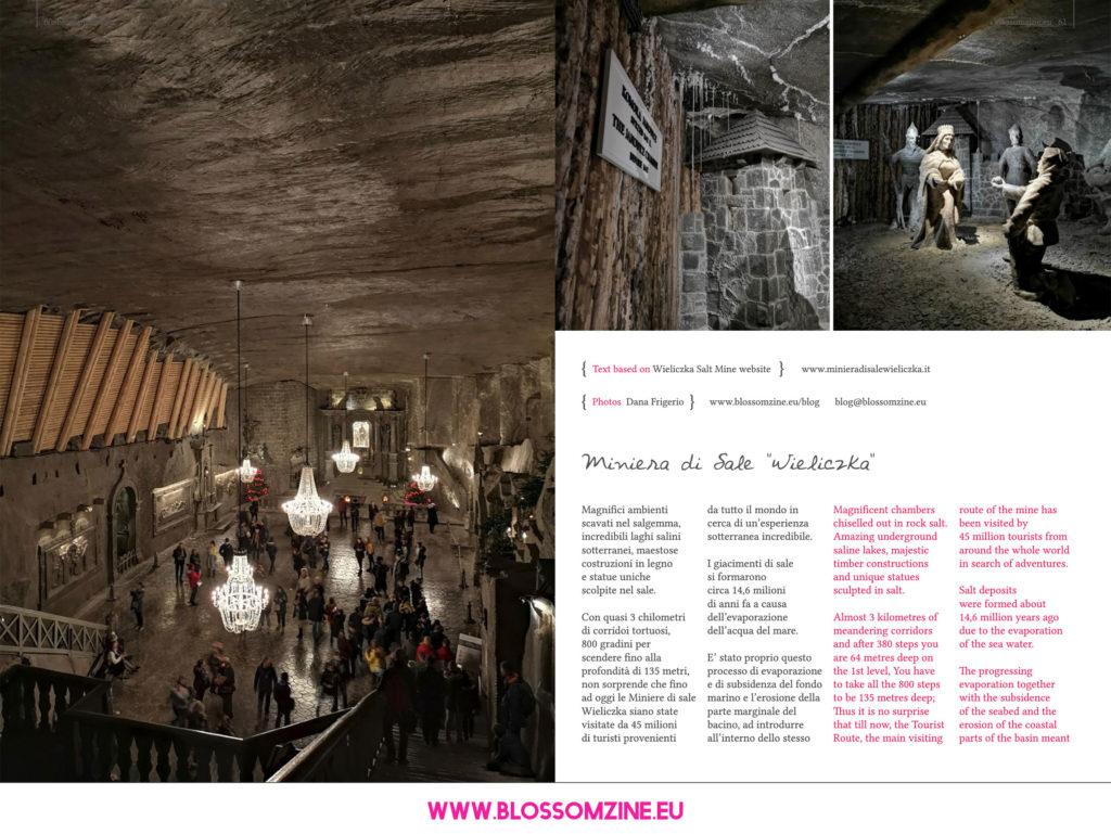 Le incredibili Miniere di sale Wieliczka, viaggio Blossomzine
