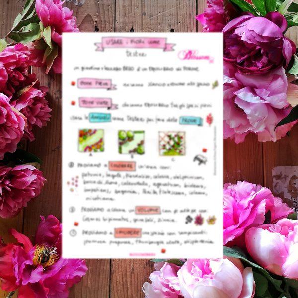 impara a progettare coi fiori